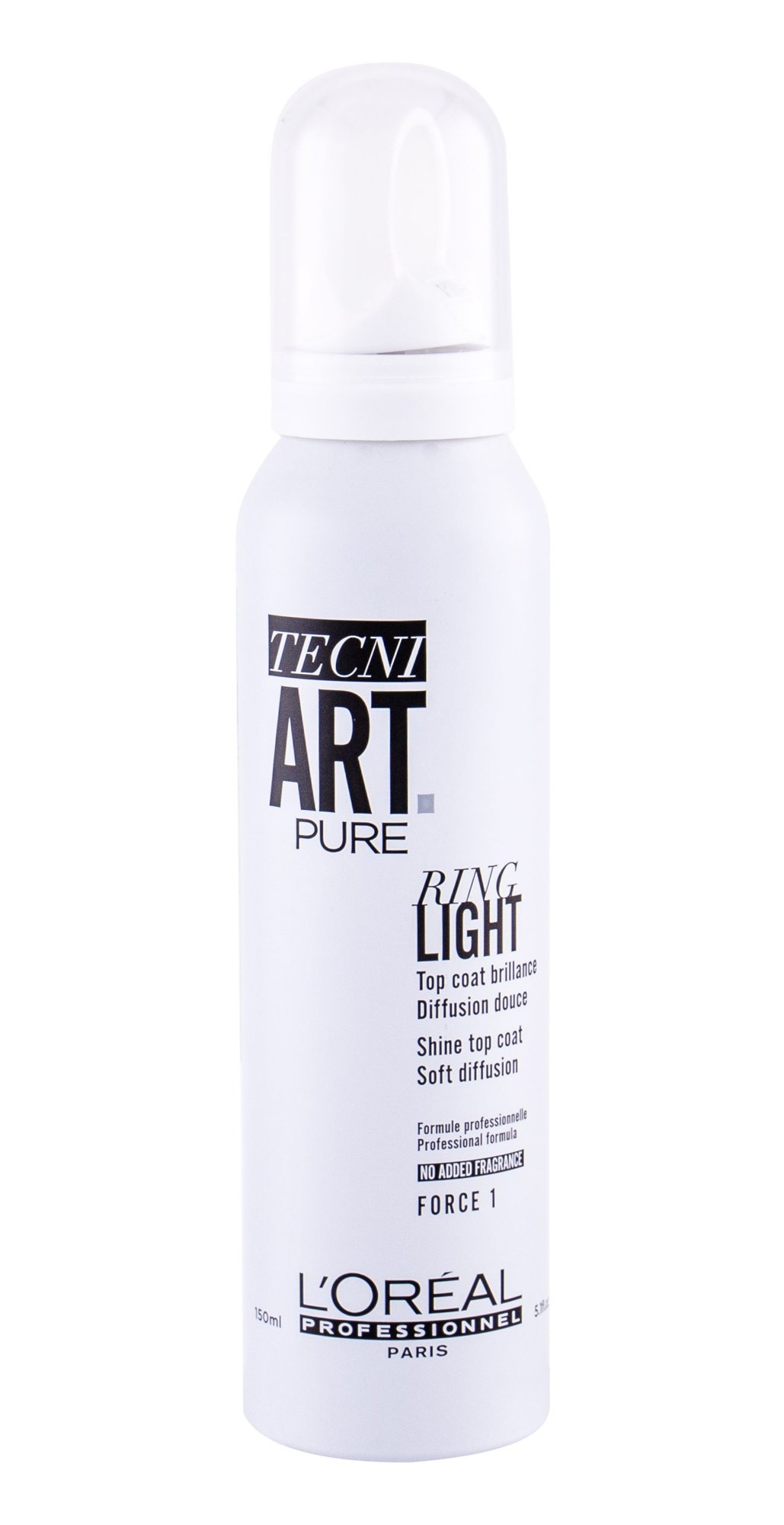 L´Oréal Professionnel Tecni.Art Pure Ring Light (Lak na vlasy, W, 150 ml)