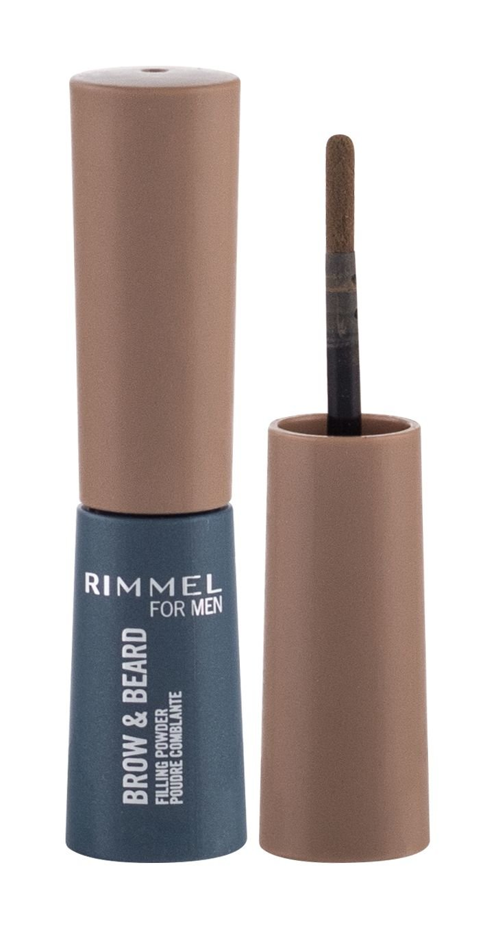 Rimmel London For Men Brow & Beard (Pudr na obočí, M, 0,7 g)