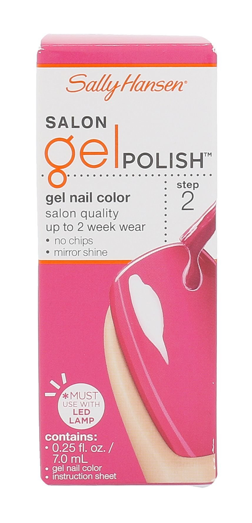 Sally Hansen Salon Gel Polish  Lak na nehty, W, 7 ml