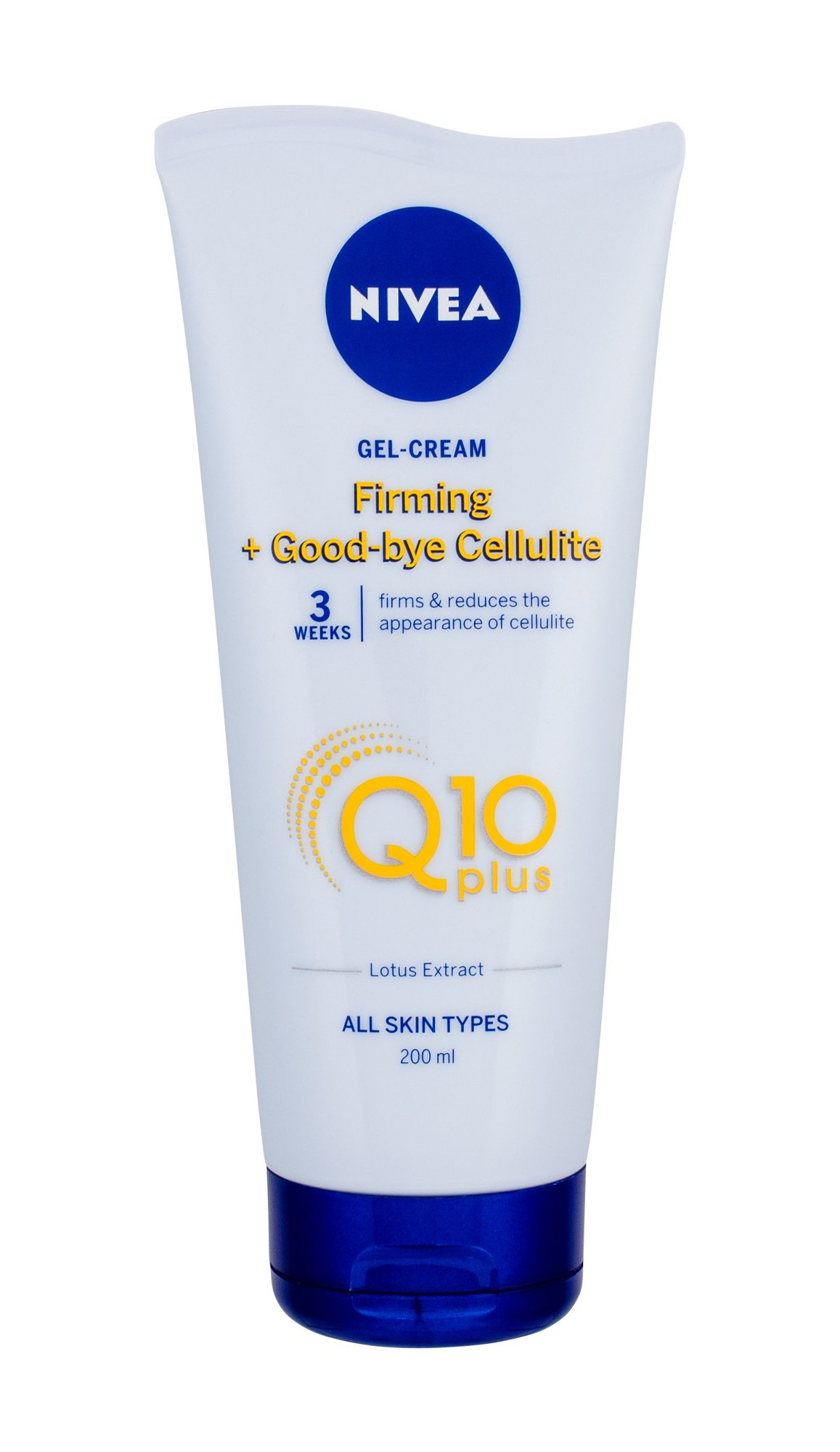 Nivea Q10 Energy+ Firming Anti Cellulite Gel (Proti celulitidě a striím, W, 200 ml)