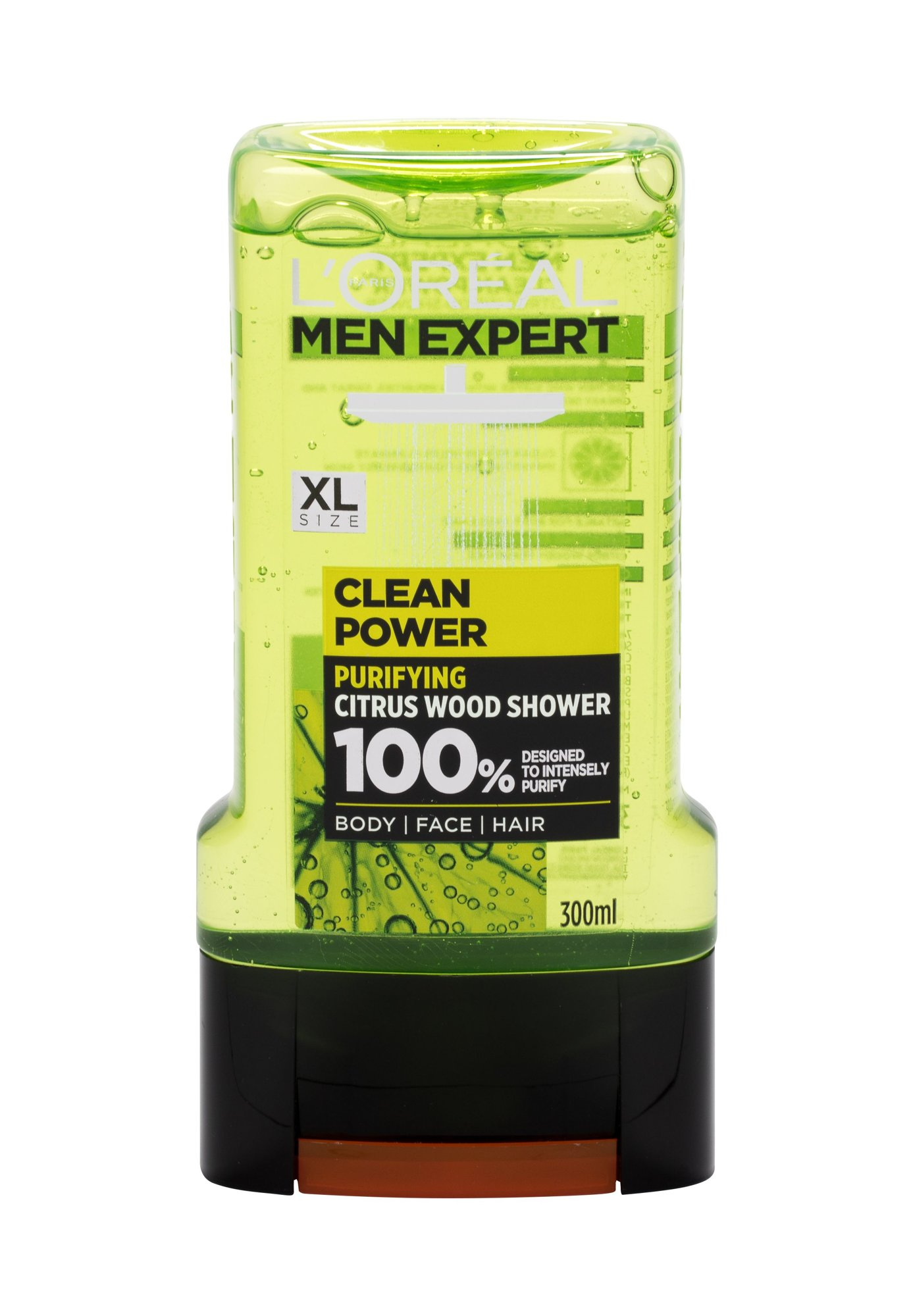 L´Oréal Paris Men Expert Clean Power (Sprchový gel, M, 300 ml)