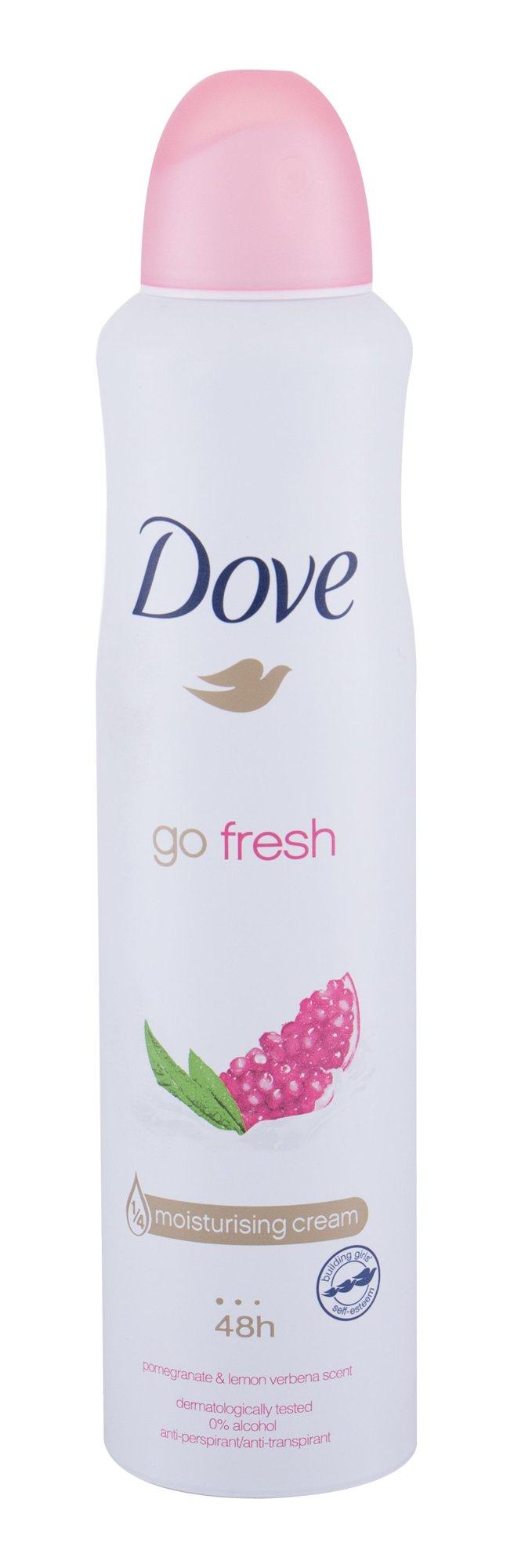 Dove Go Fresh 48h Antiperspirant, W, 250 ml