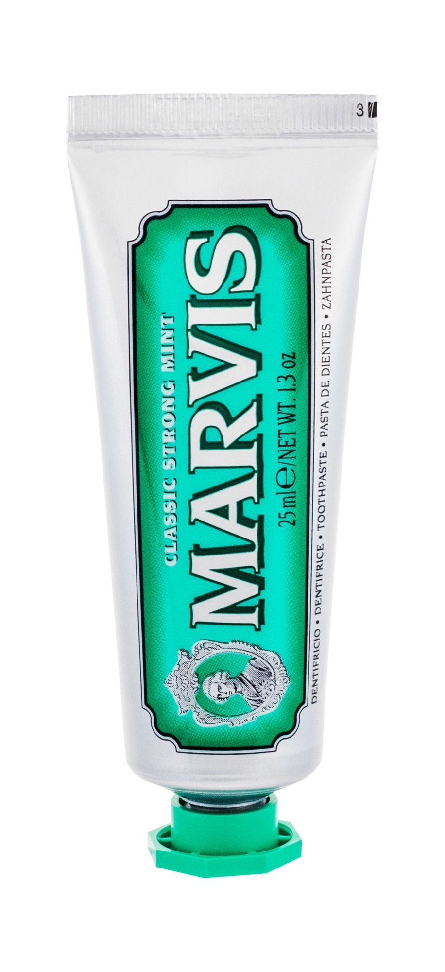 Marvis Classic Strong Mint  (Zubní pasta, U, 25 ml)
