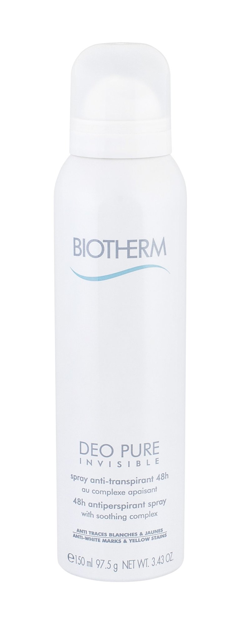 Biotherm Deo Pure Invisible  Antiperspirant, W, 150 ml