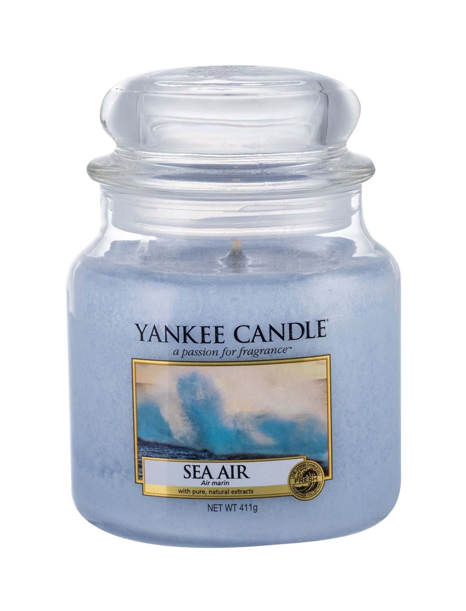 Yankee Candle Sea Air  (Vonná svíčka, U, 411 g)