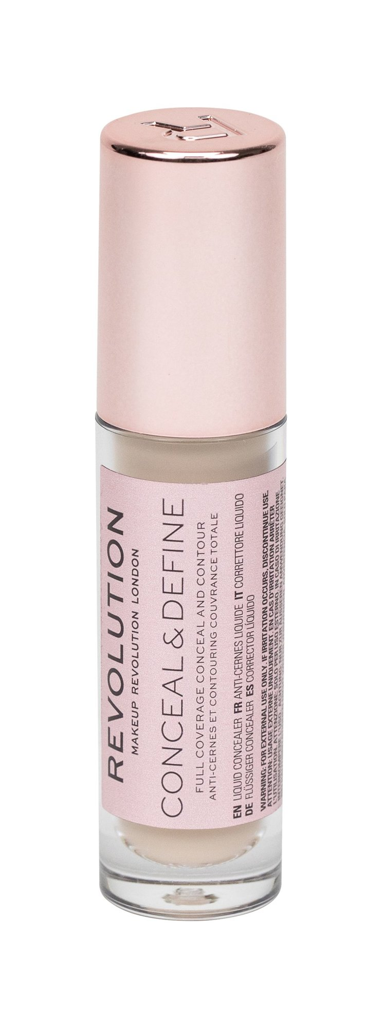 Makeup Revolution London Conceal & Define  Korektor, W, 4 g