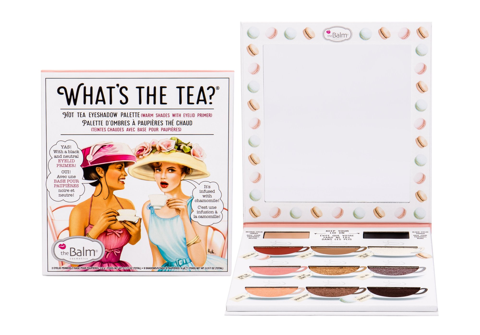 TheBalm What´s the Tea? Hot Tea Eyeshadow Palette (Oční stín, W, 12,6 g)