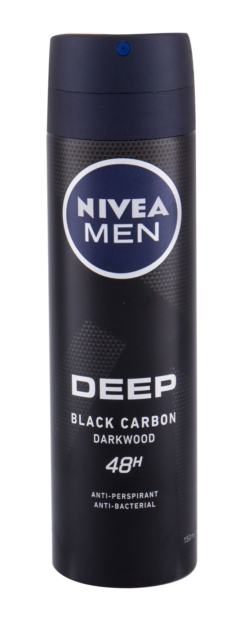 Nivea Men Deep 48h Antiperspirant, M, 150 ml