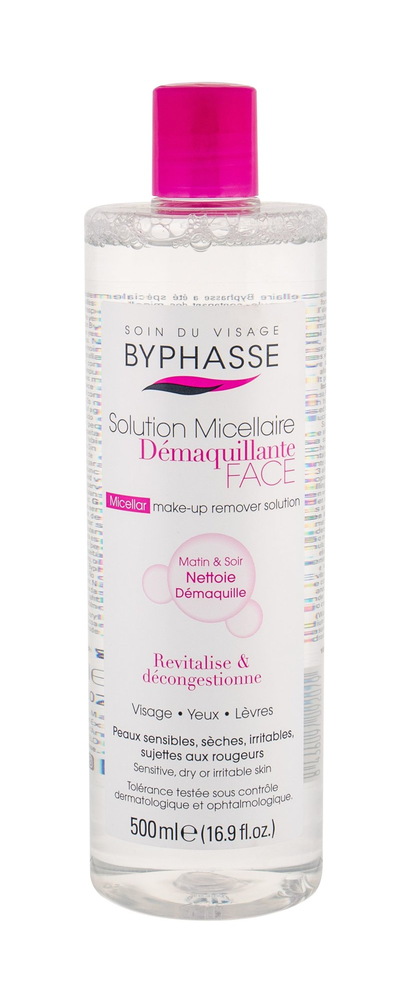 BYPHASSE Solution Micellaire  (Micelární voda, W, 500 ml)