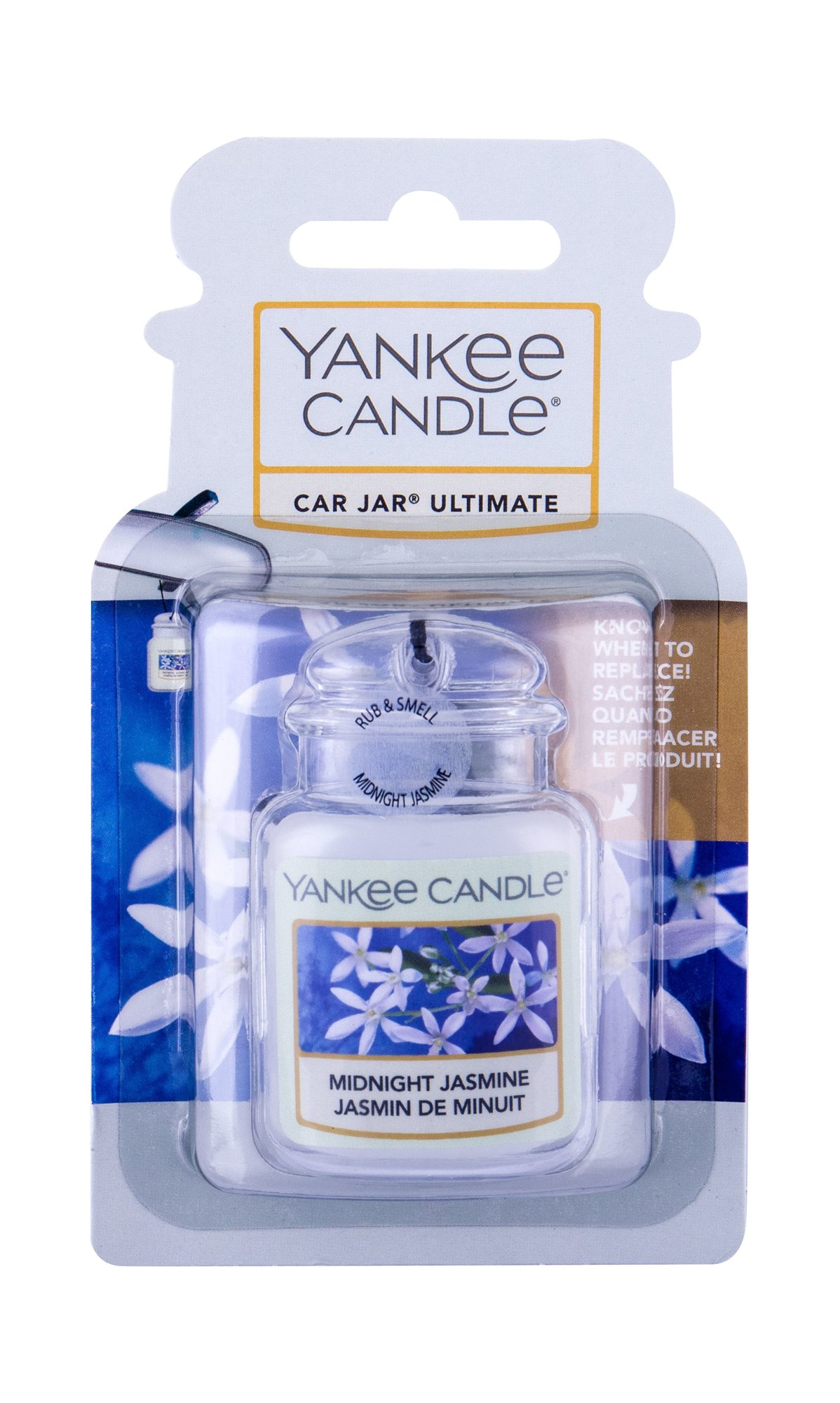 Yankee Candle Midnight Jasmine Car Jar (Vůně do auta, U, 1 ks)