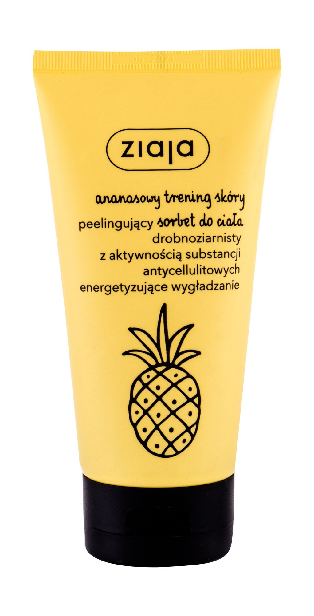 Ziaja Pineapple Body Scrub (Proti celulitidě a striím, W, 160 ml)