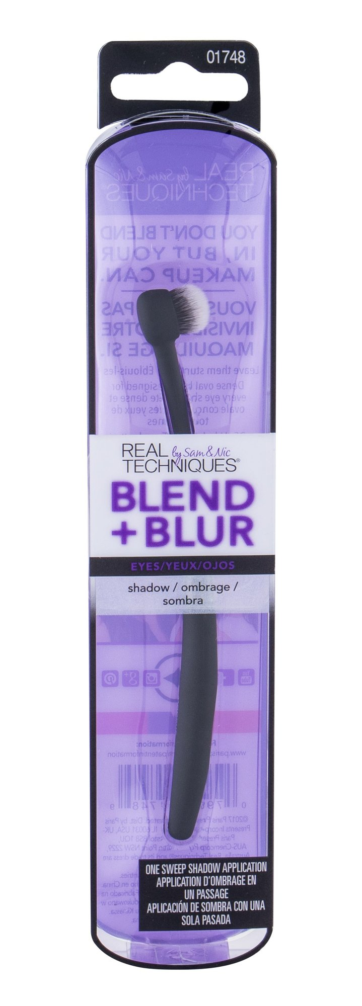 Real Techniques Blend + Blur Shadow Brush (Štětec, W, 1 ks)