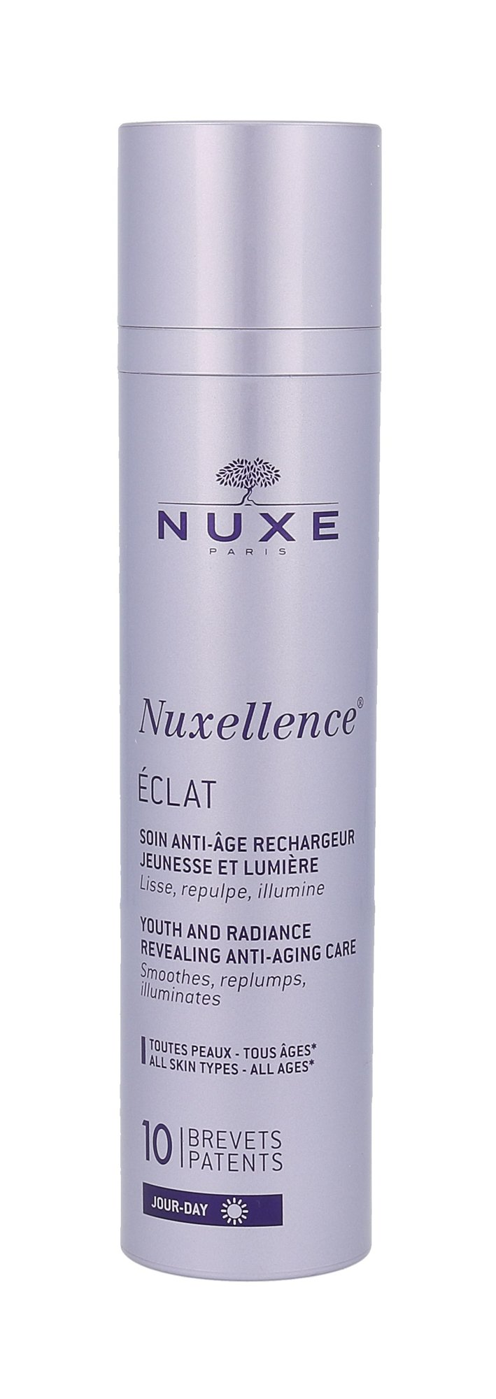 NUXE Nuxellence Eclat Youth And Radiance Anti-Age Care (Pleťový gel, W, 50 ml, Tester)