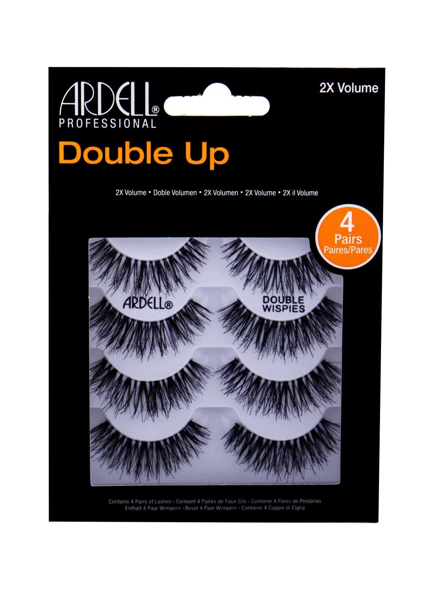 Ardell Double Up Wispies (Umělé řasy, W, 4 ks)