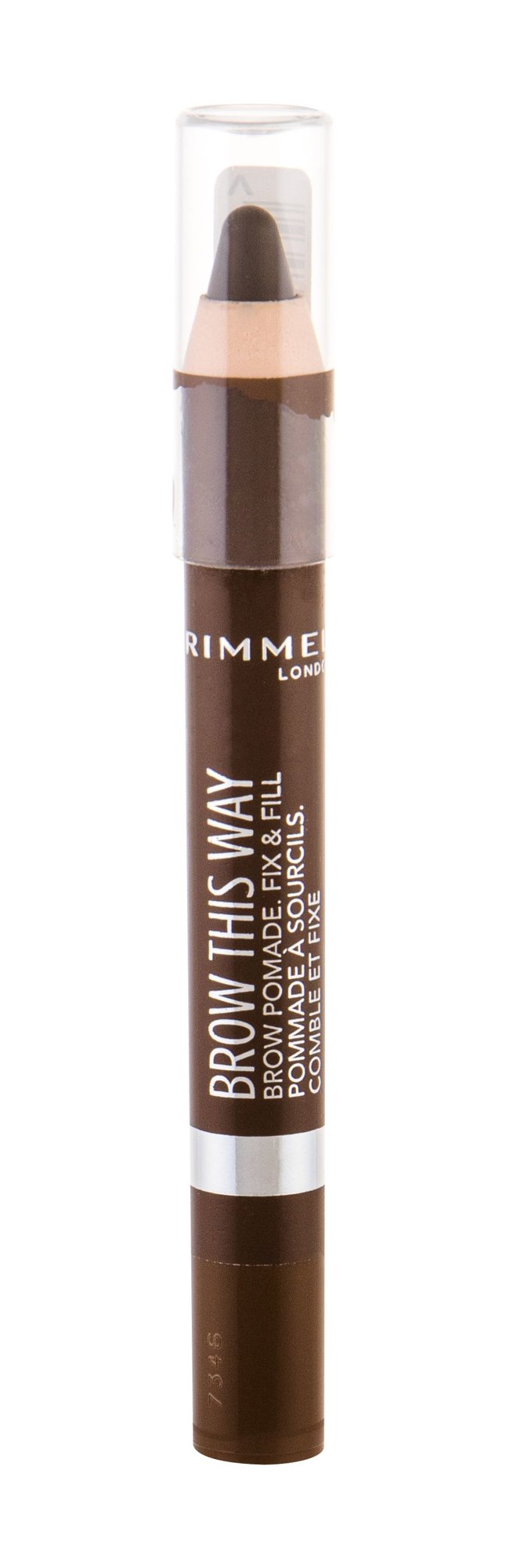 Rimmel London Brow This Way Brow Pomade (Tužka na obočí, W, 3,25 g)