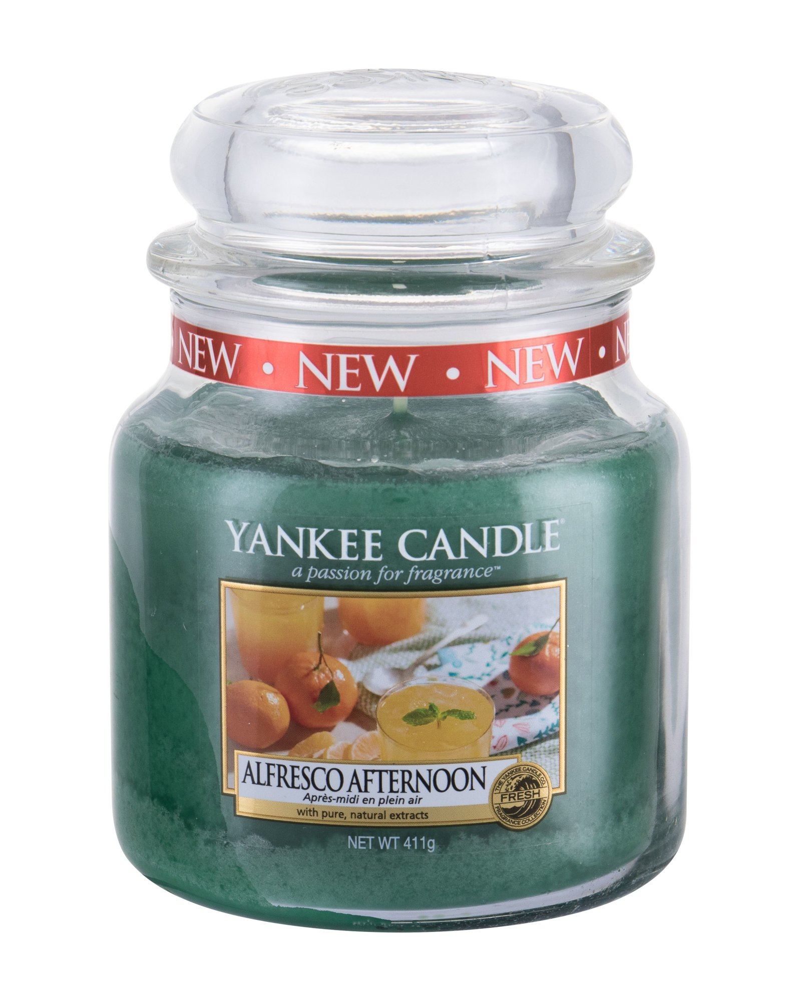 Yankee Candle Alfresco Afternoon  (Vonná svíčka, U, 411 g)