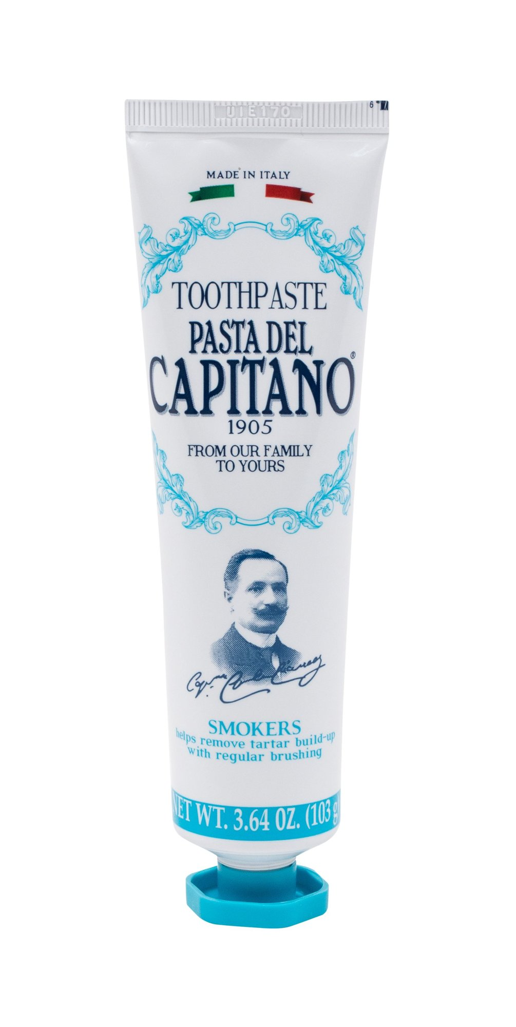 Pasta Del Capitano Smokers Toothpaste  (Zubní pasta, U, 75 ml)