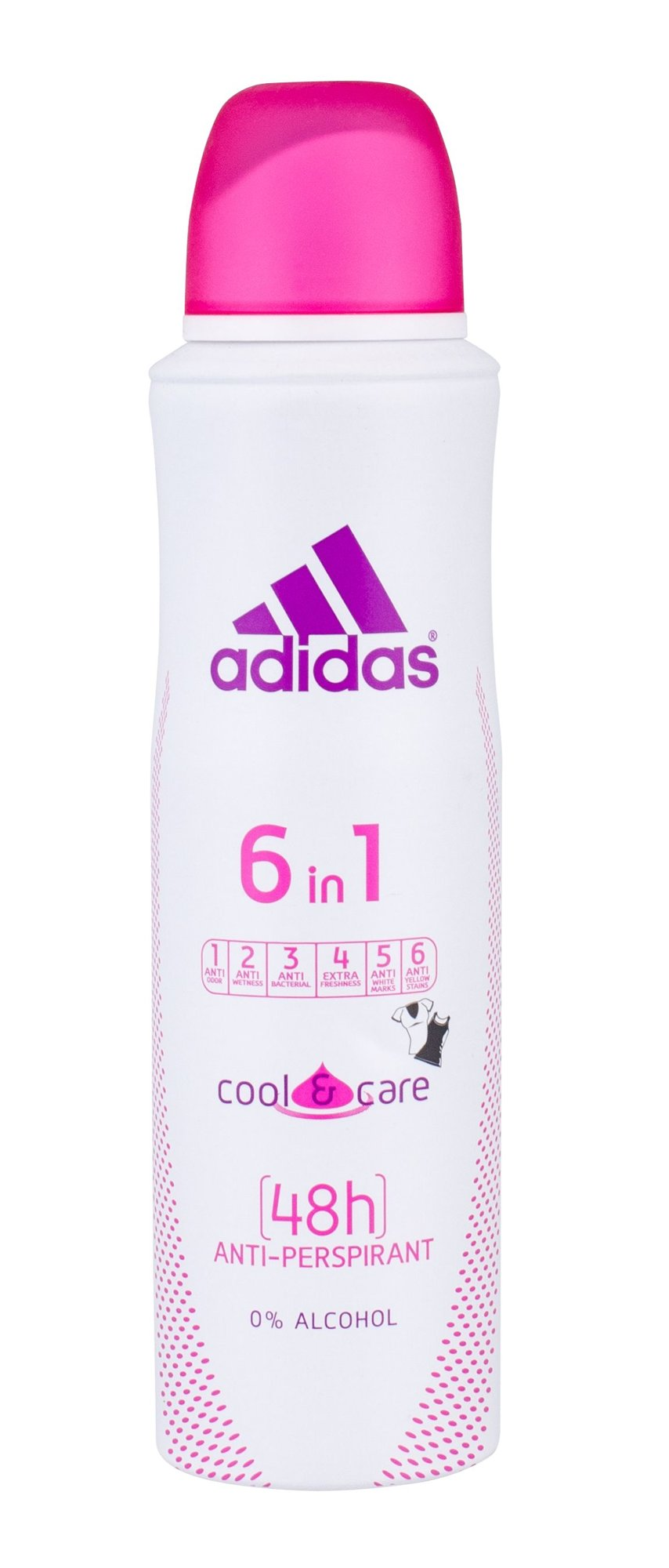Adidas 6in1 Cool & Care 48h (Antiperspirant, W, 150 ml)
