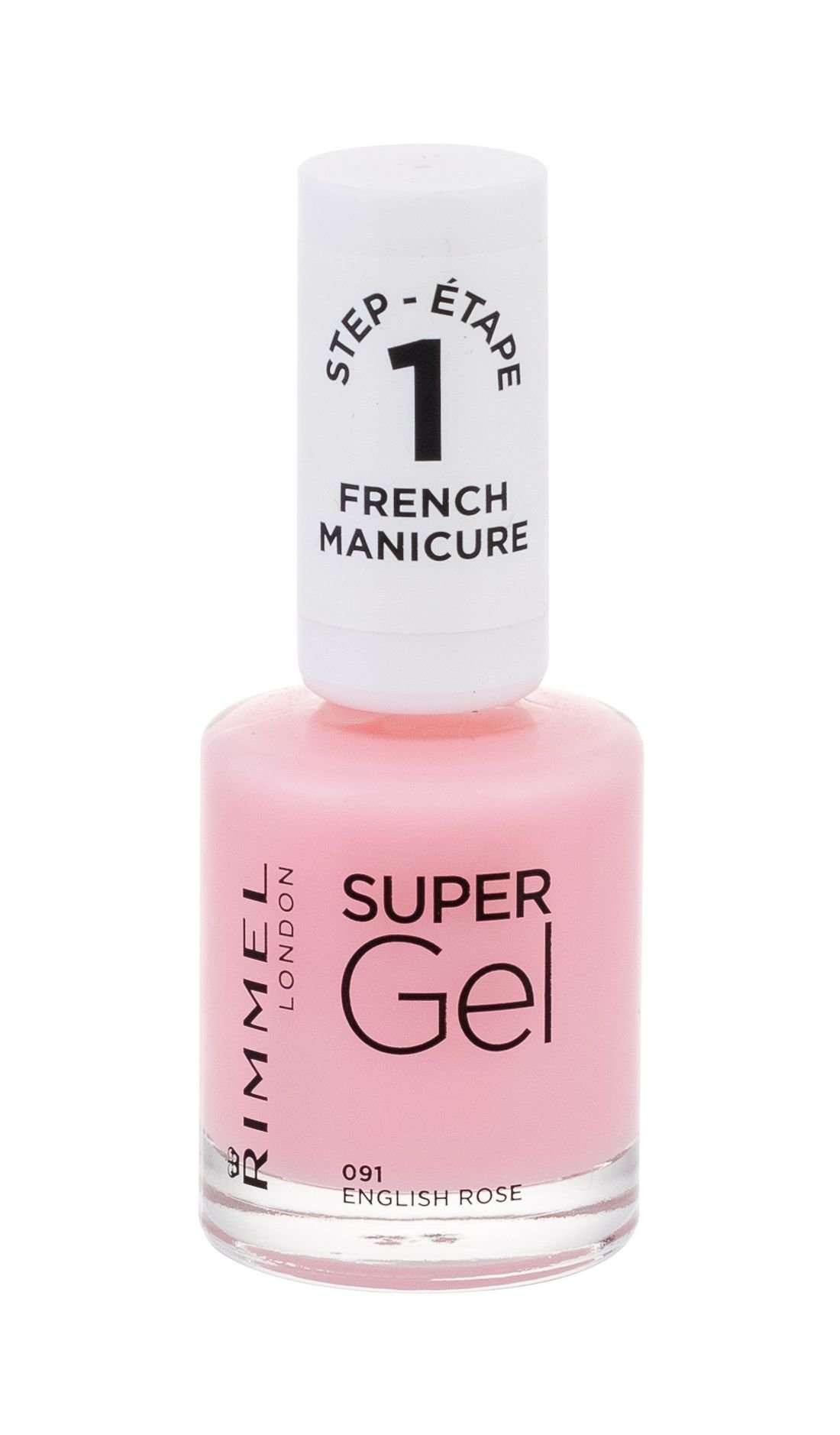 Rimmel London Super Gel French Manicure  Lak na nehty, W, 12 ml