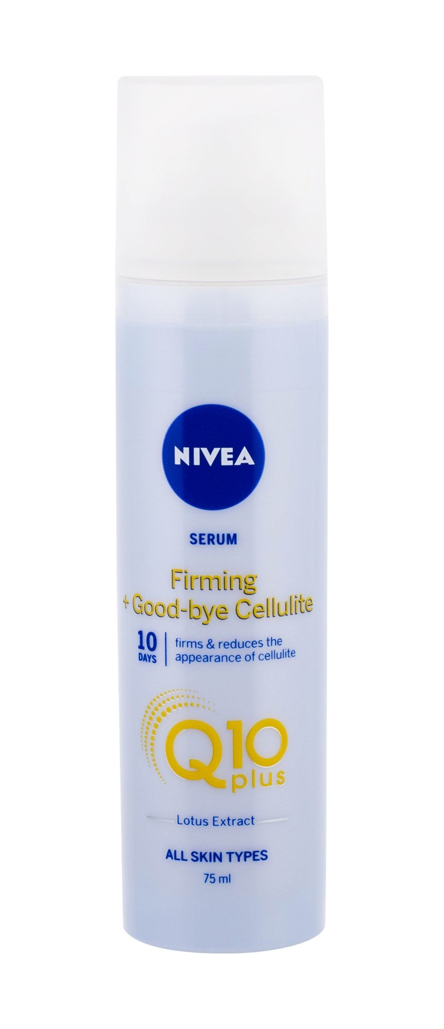 Nivea Q10 Energy+ Firming Anti Cellulite Serum (Proti celulitidě a striím, W, 75 ml)