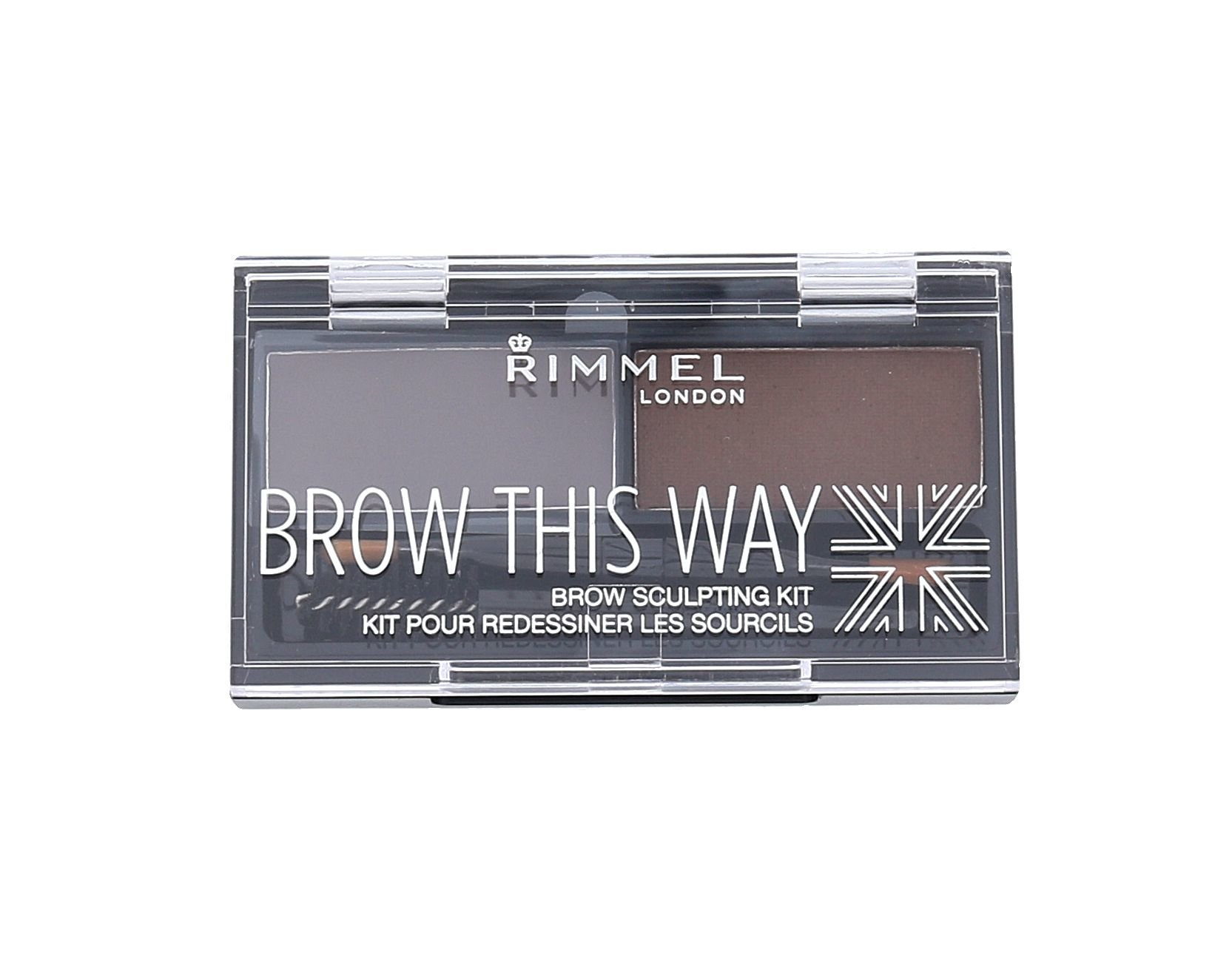 Rimmel London Brow This Way  (Set a paletka na obočí, W, 2,4 g)