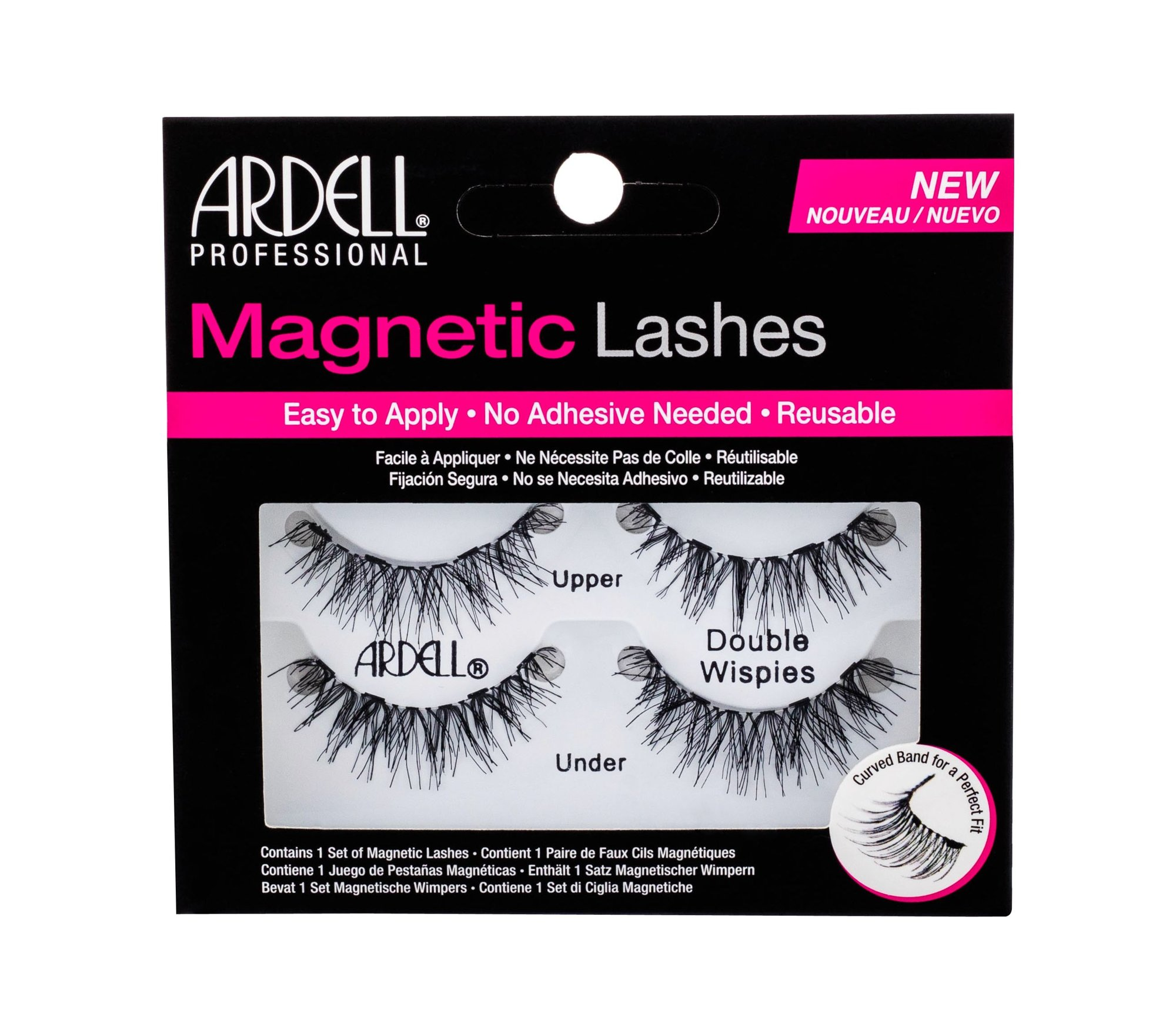 Ardell Magnetic Lashes Double Wispies (Umělé řasy, W, 1 ks)