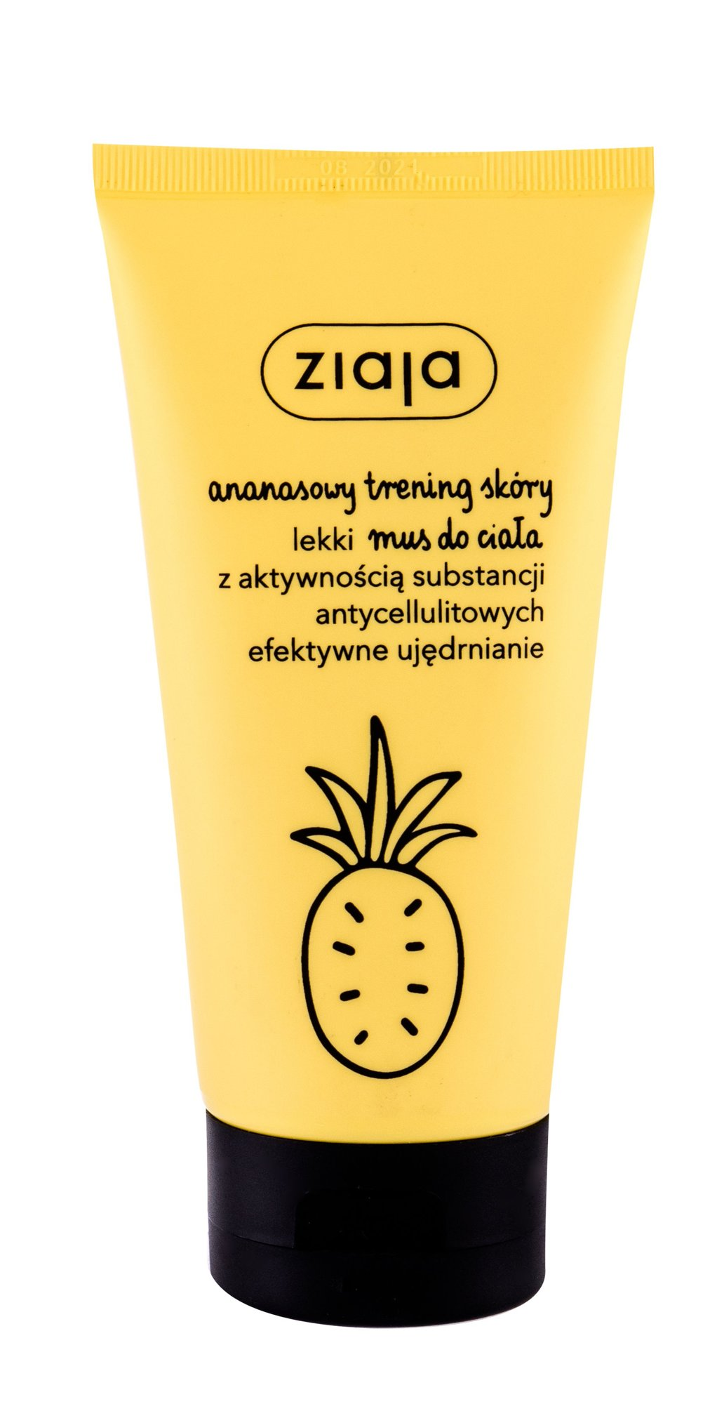 Ziaja Pineapple Body Foam (Proti celulitidě a striím, W, 160 ml)