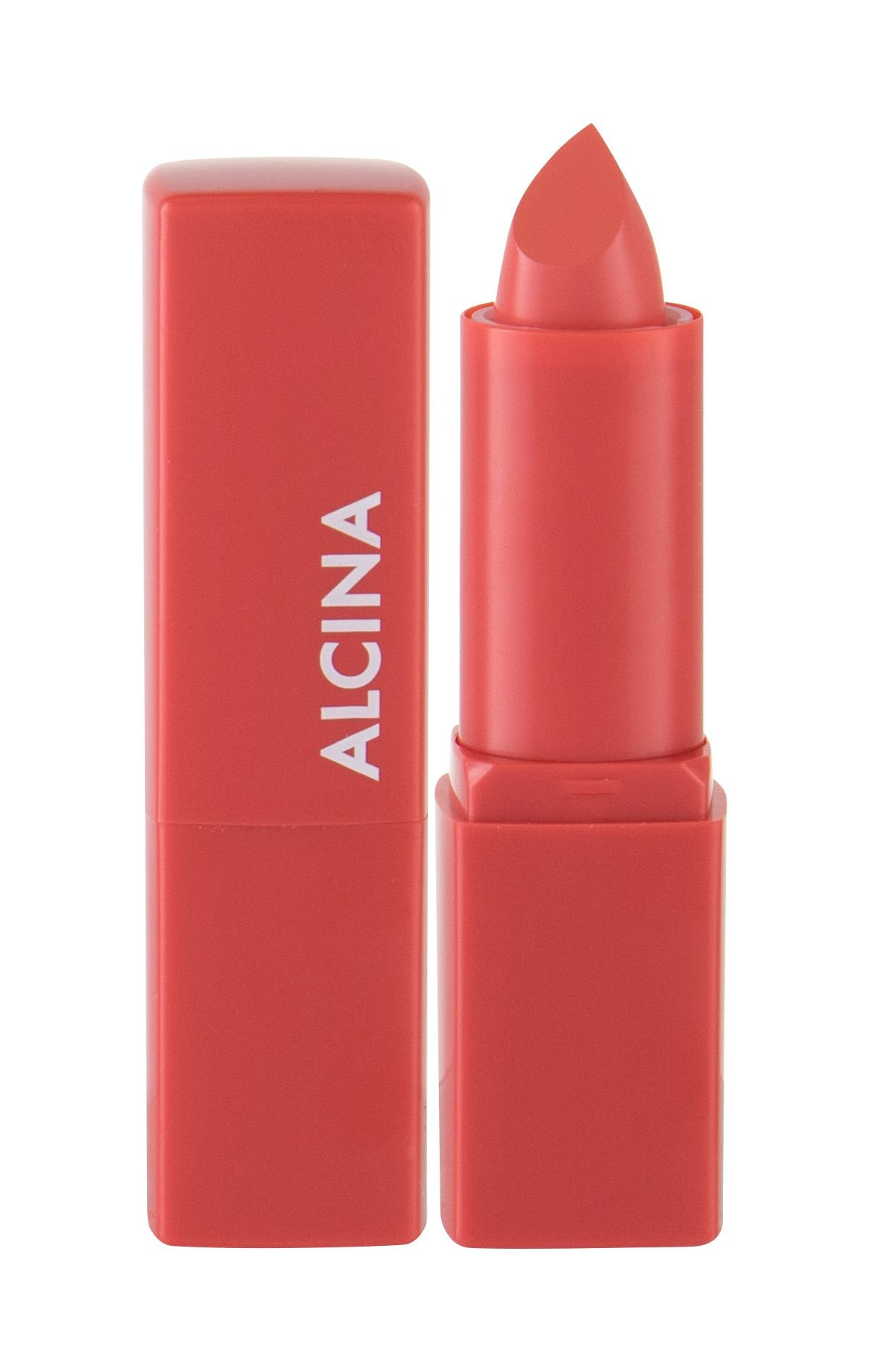 ALCINA Pure Lip Color  (Odstín 04 Poppy Red,Rtěnka, W, 3,8 g)