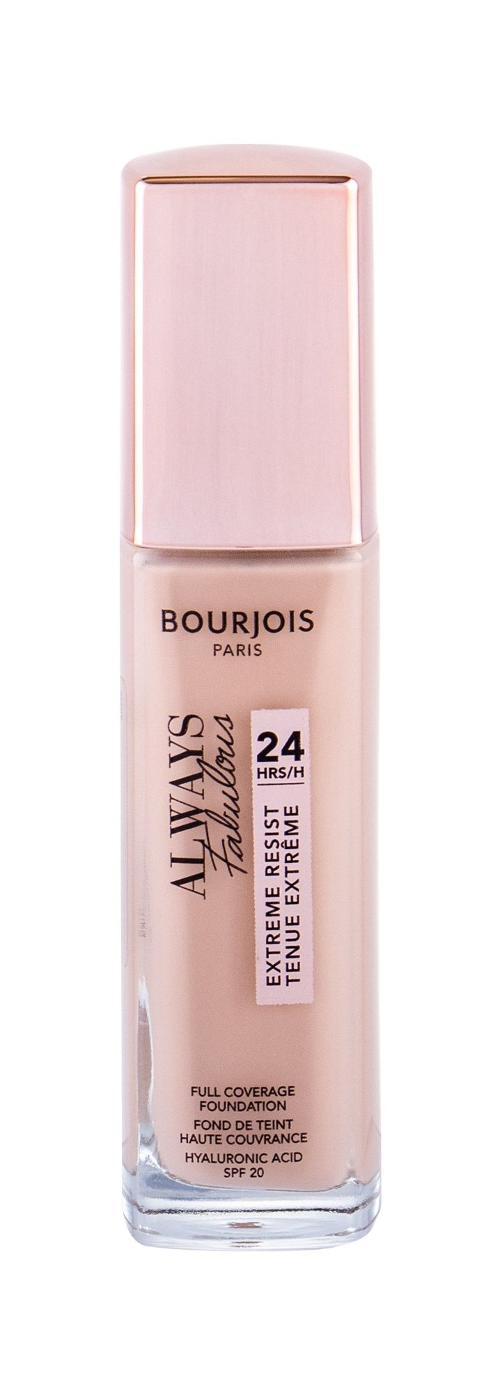 BOURJOIS Paris Always Fabulous SPF20 Makeup, W, 30 ml