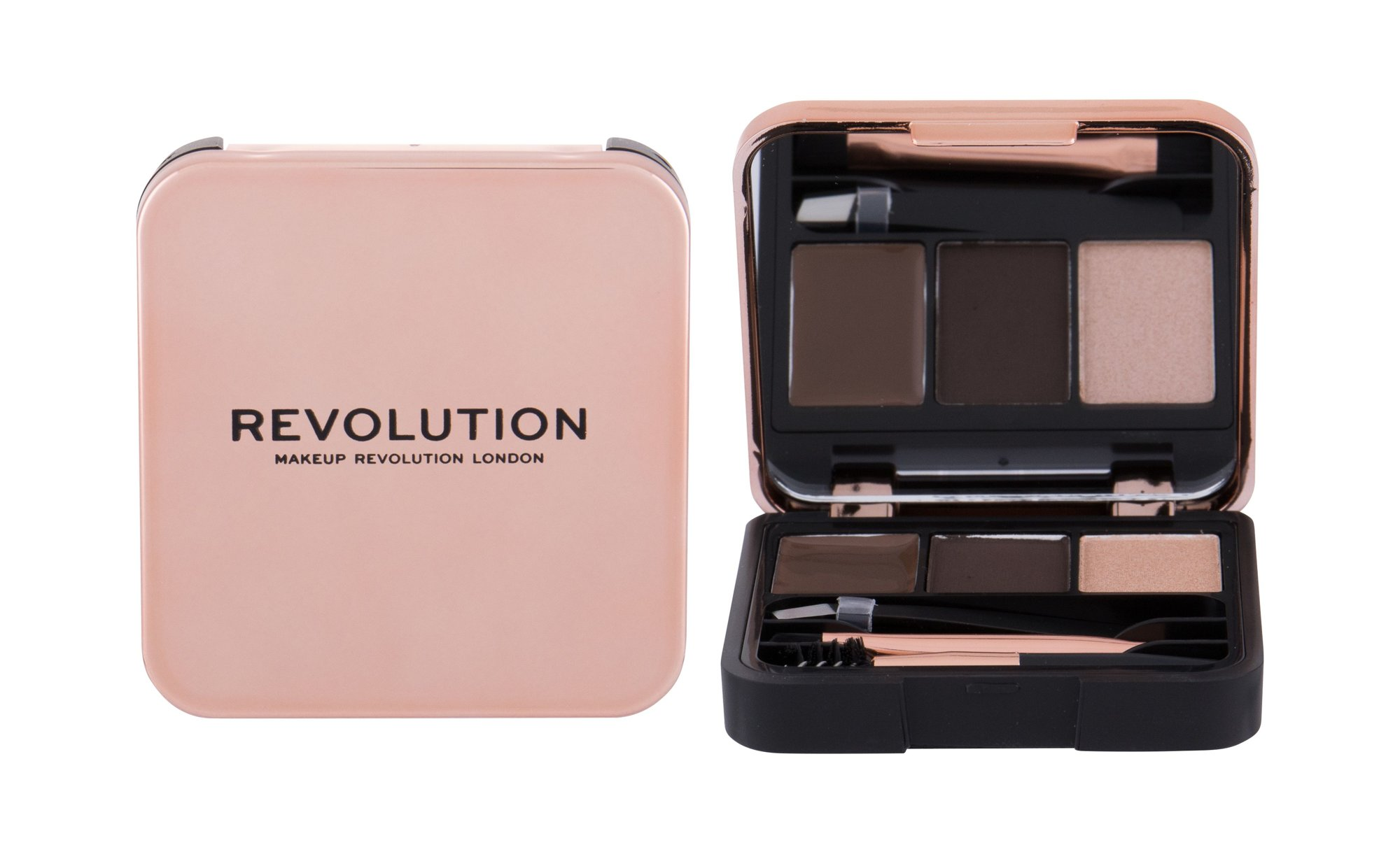 Makeup Revolution London Brow Sculpt Kit  (Set a paletka na obočí, W, 2,2 g)