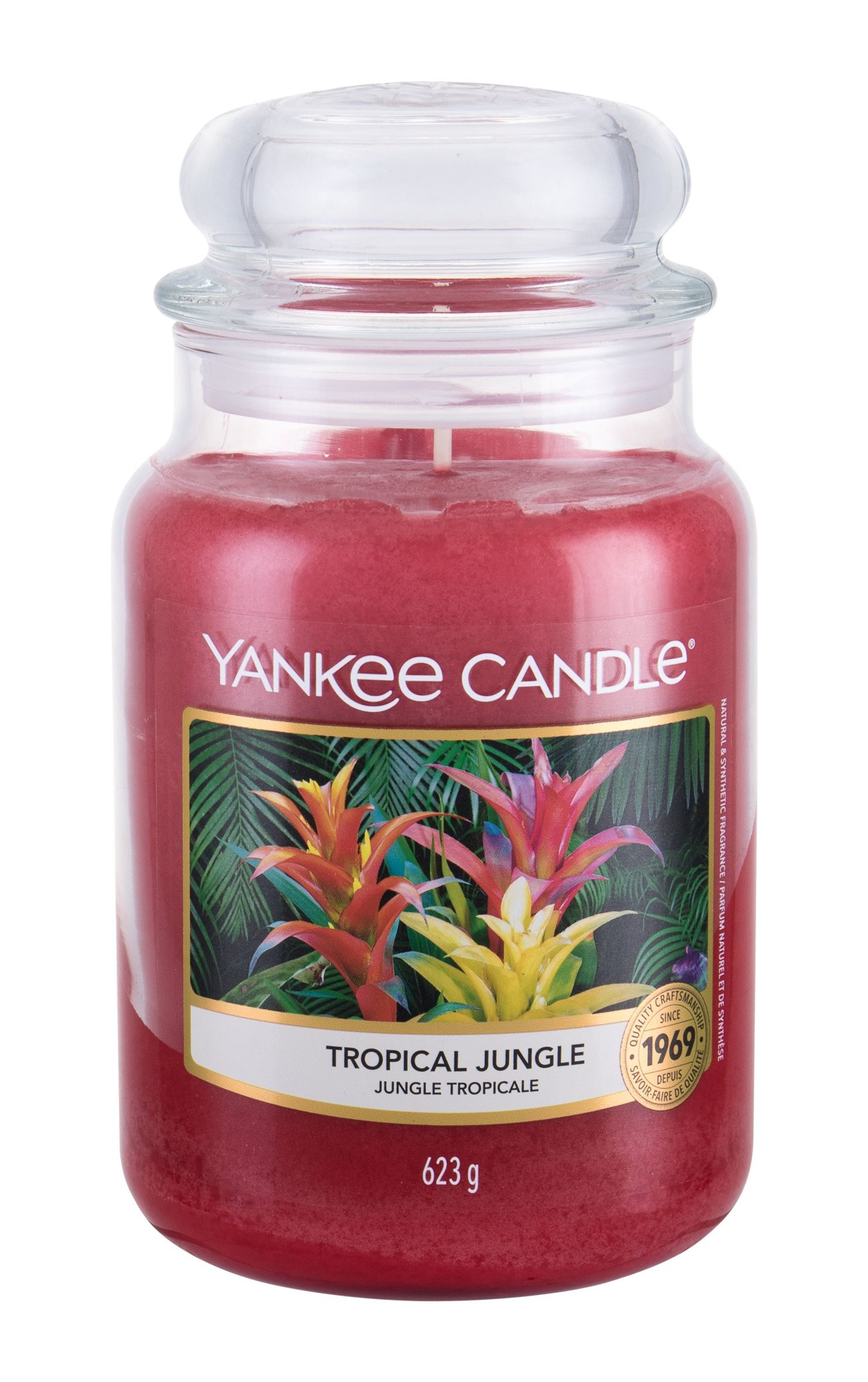 Yankee Candle Tropical Jungle  (Vonná svíčka, U, 623 g)