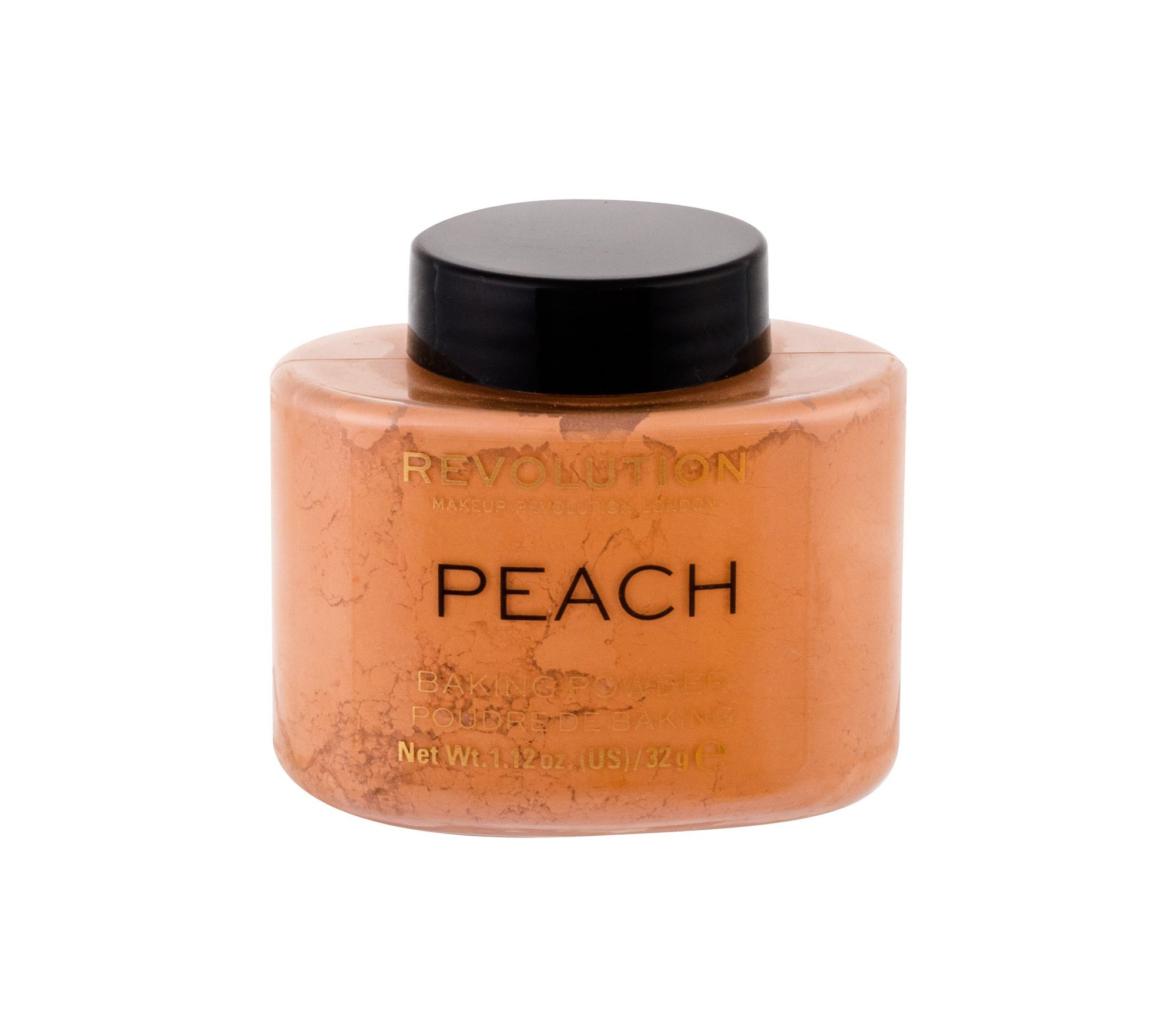 Makeup Revolution London Baking Powder sypký pudr Peach 32 g
