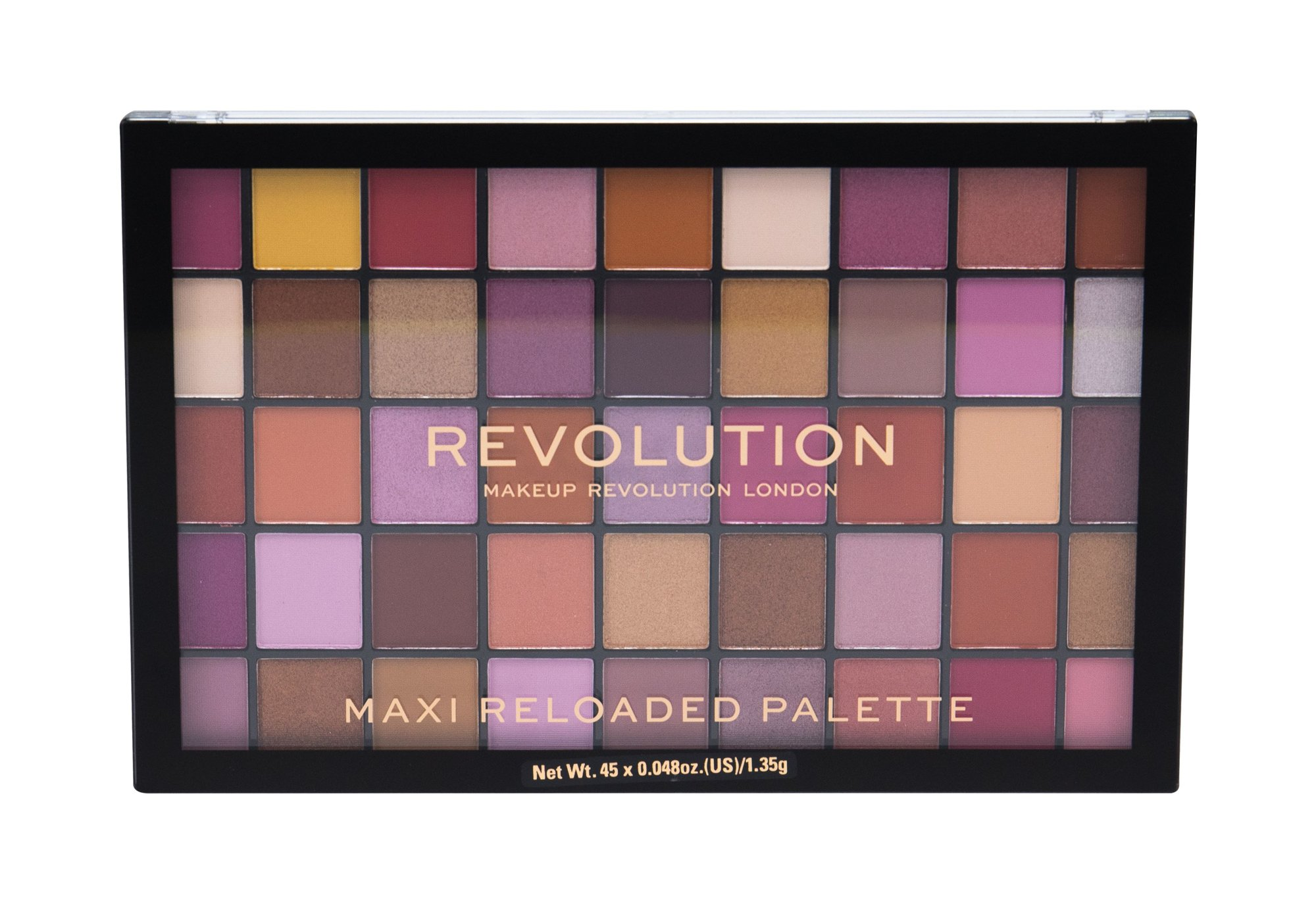 Makeup Revolution London Maxi Re-loaded  Oční stín, W, 60,75 g