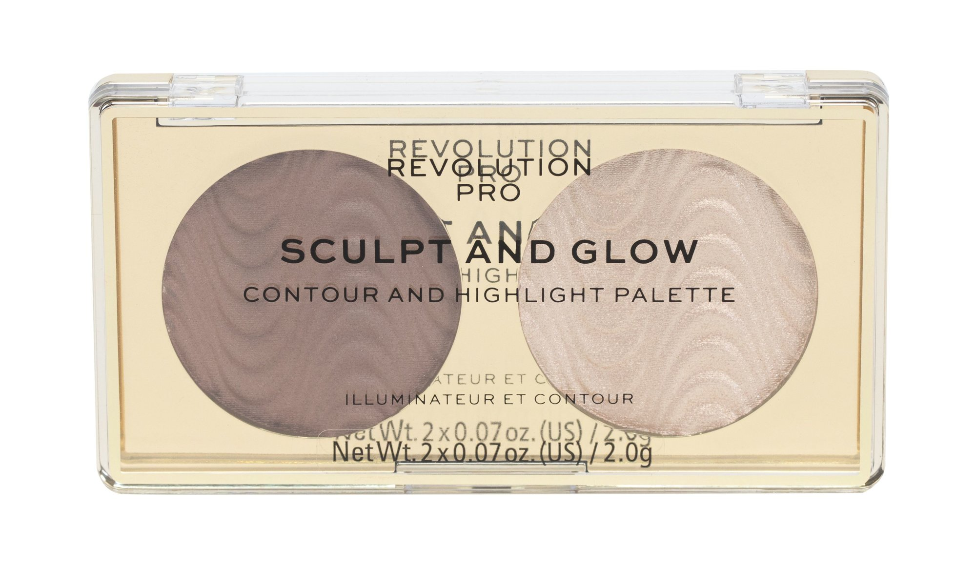 Makeup Revolution London Revolution PRO Sculpt And Glow (Odstín Savanna Nights, Dekorativní kazeta, W, 4 g)