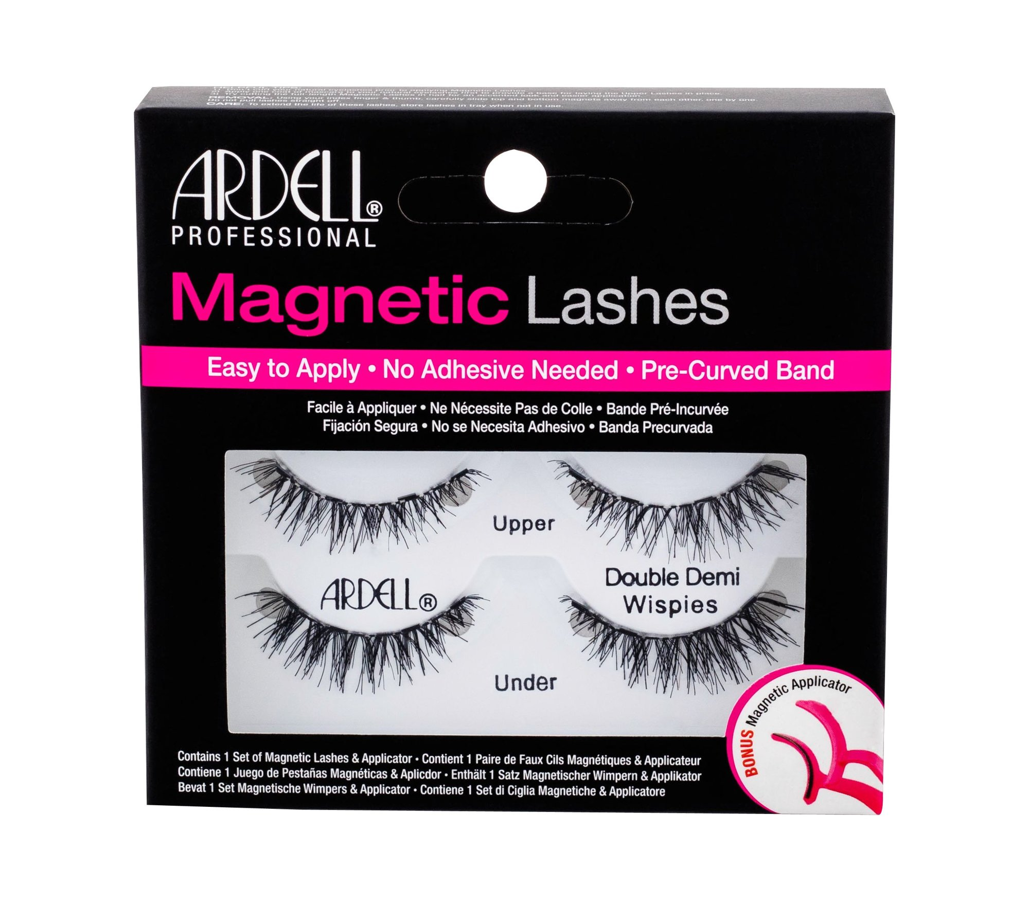 Ardell Magnetic Lashes Double Demi Wispies (Umělé řasy, W, 1 ks)