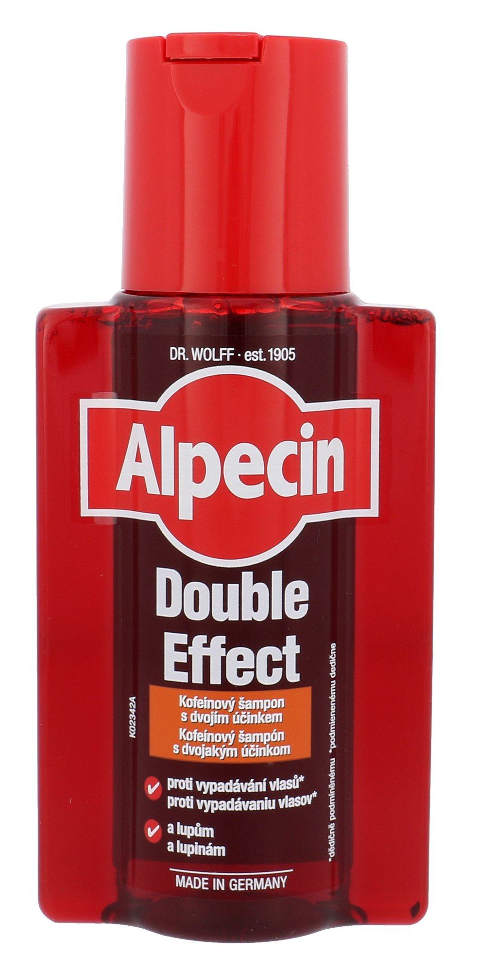 Alpecin Double Effect Caffeine  (Šampon, M, 200 ml)