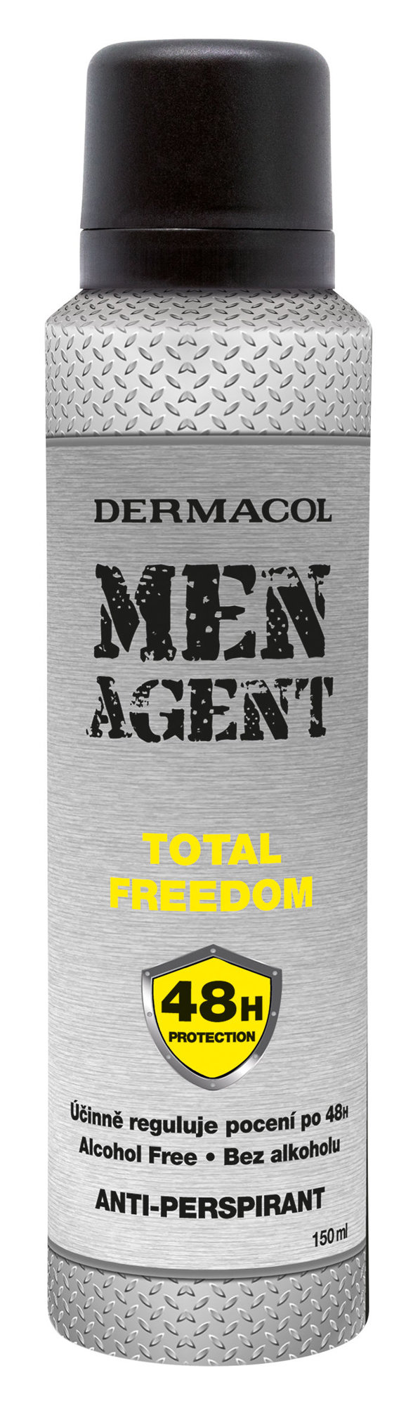 Dermacol Men Agent Total Freedom (Antiperspirant, M, 150 ml)