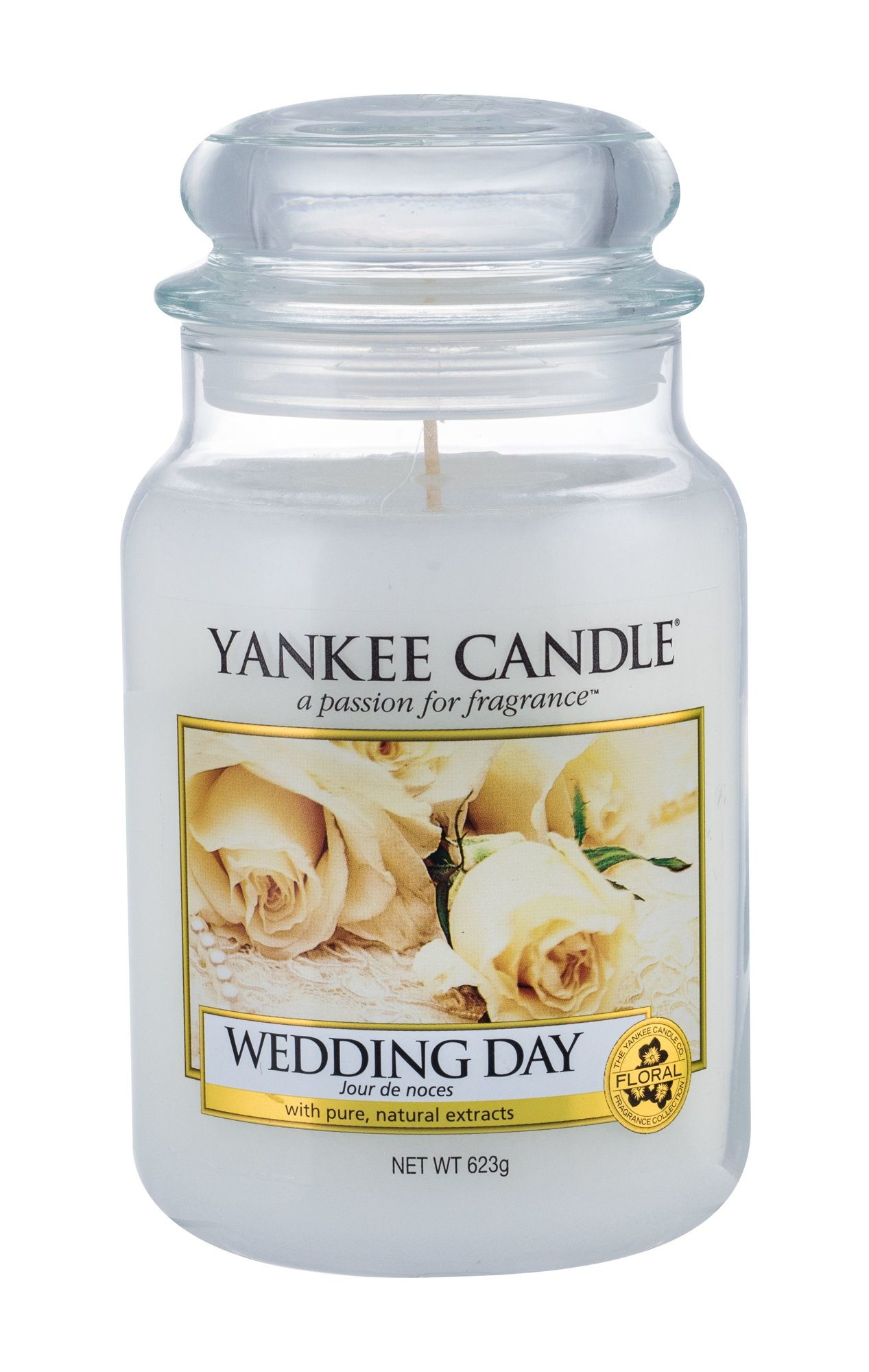 Yankee Candle Wedding Day  (Vonná svíčka, U, 623 g)