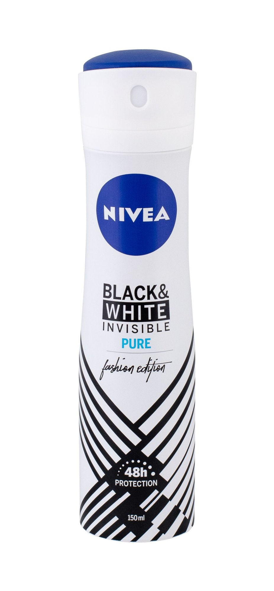 Nivea Invisible For Black & White 48h Antiperspirant, W, 150 ml