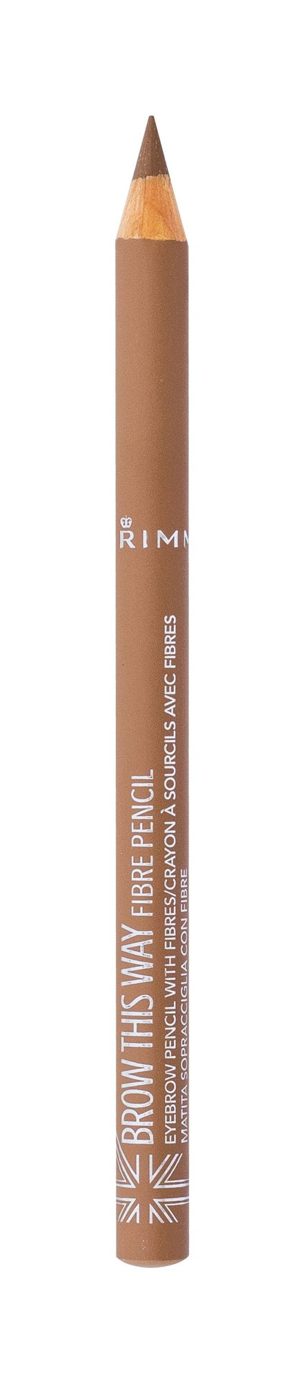 Rimmel London Brow This Way Fibre Pencil (Tužka na obočí, W, 1,08 g)